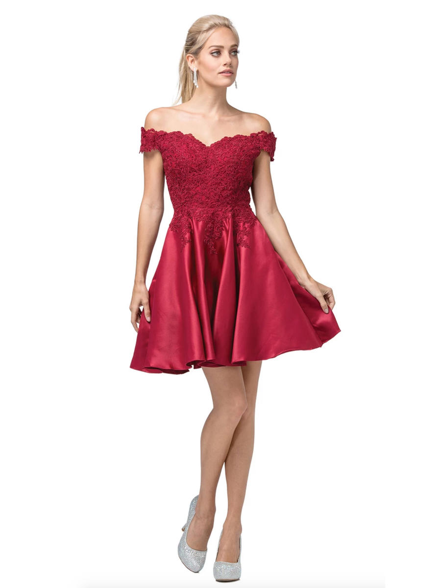 Dancing Queen - Satin Dress-Embroidered Bead Bodice
