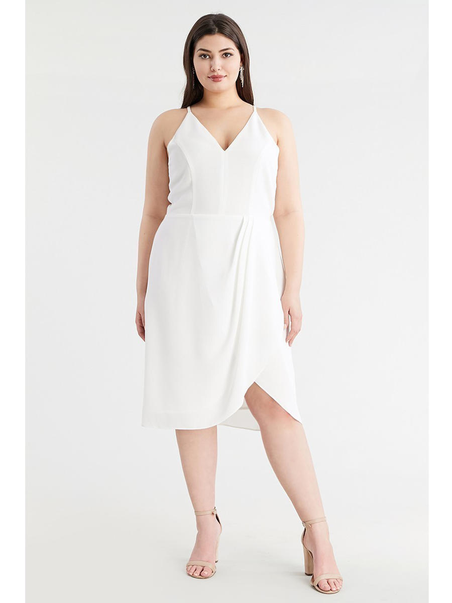 DO + BE - Wrap Waist Dress
