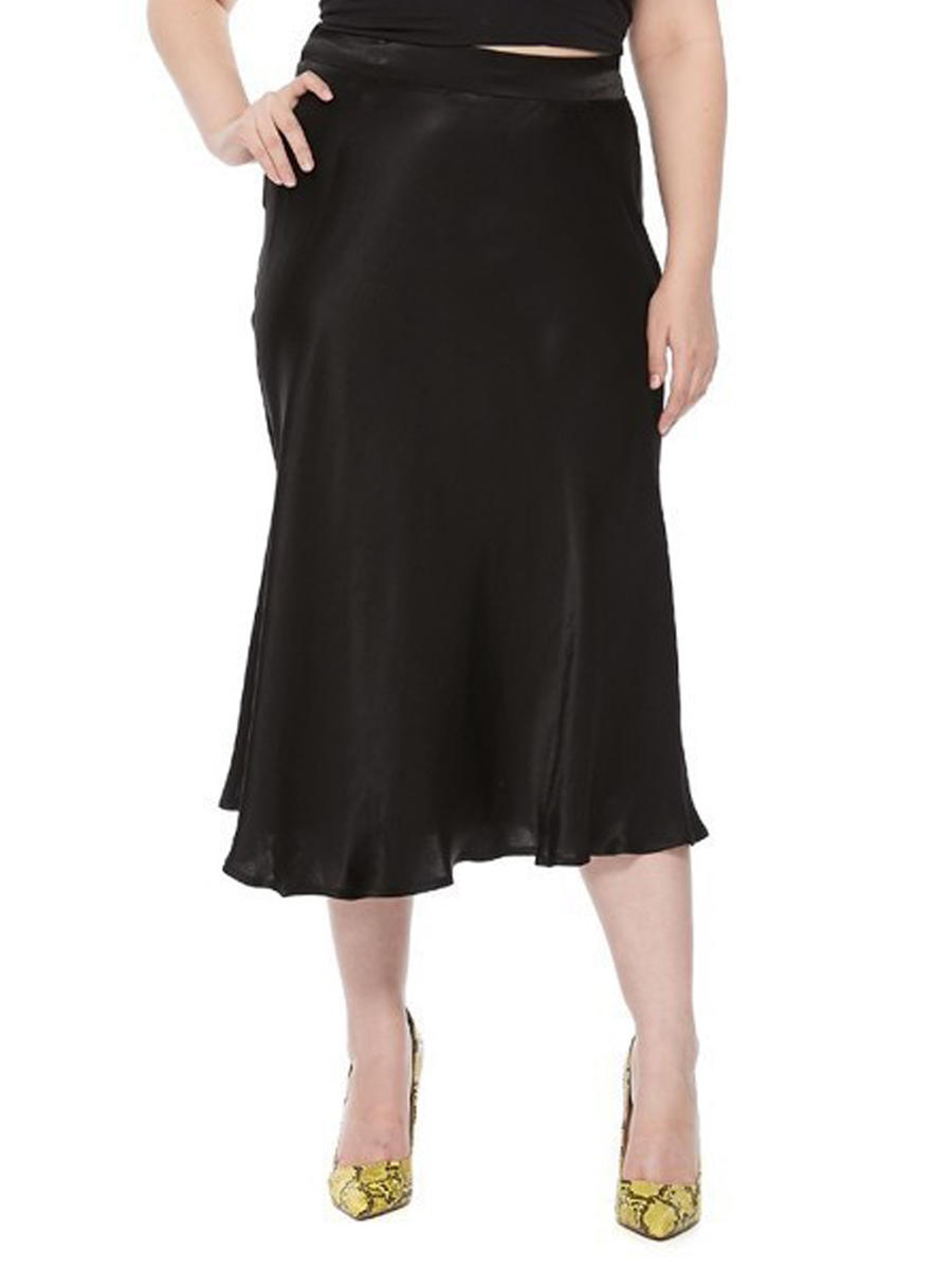 DO + BE - Satin Long Skirt