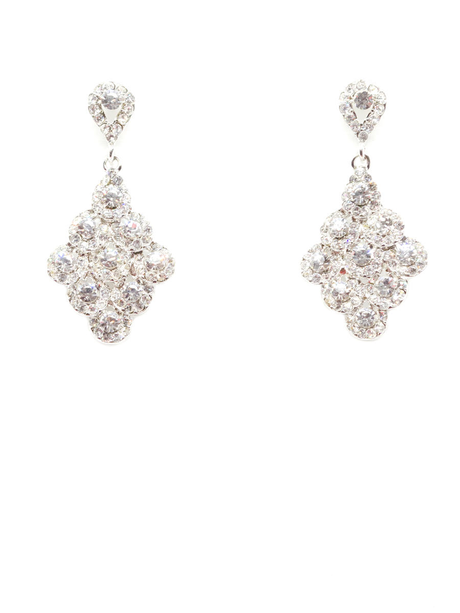 DS BRIDAL    DAE SUNG . - CRYSTALEARRINGS