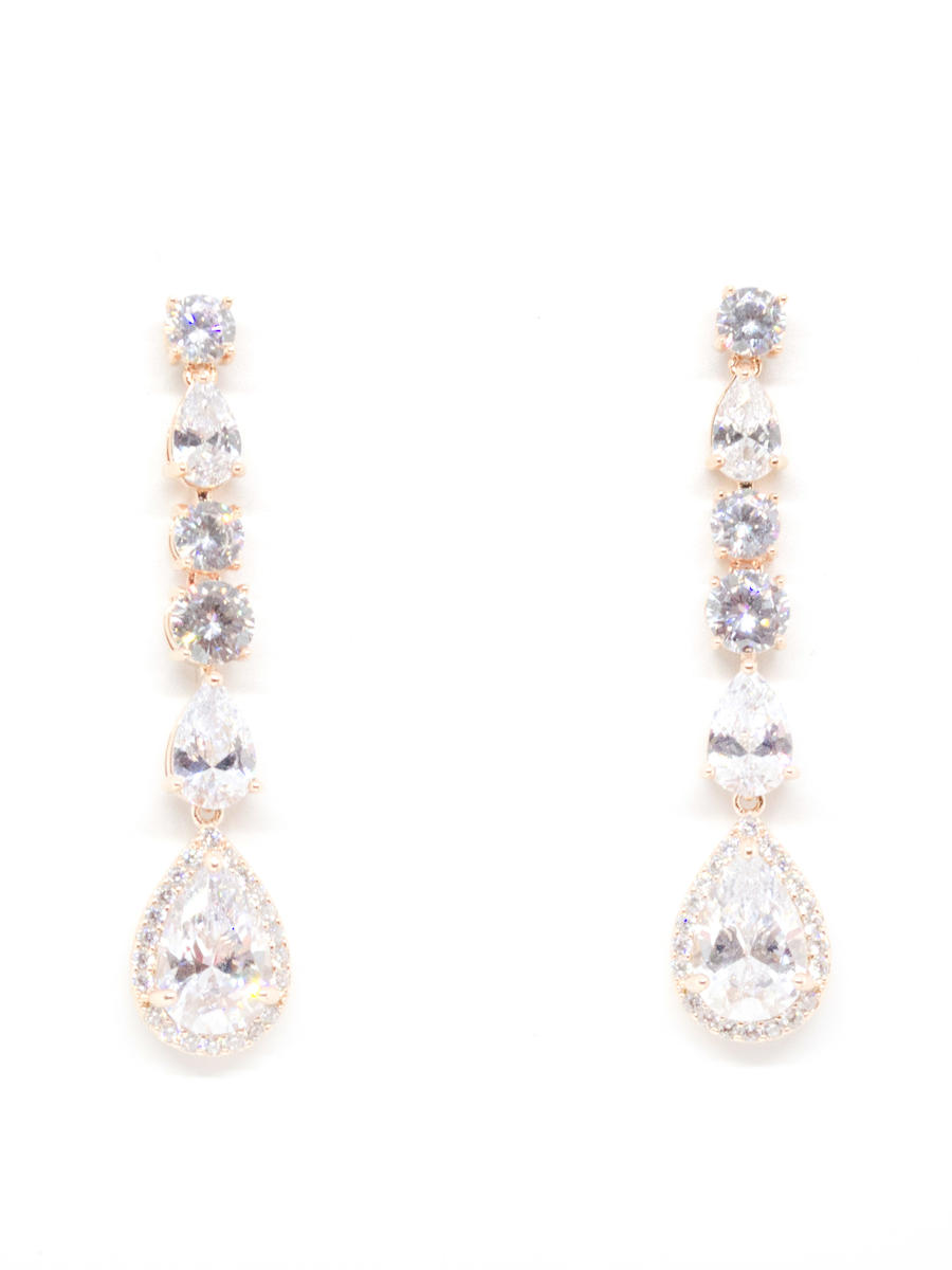 DS BRIDAL    DAE SUNG . - Cz Earrings