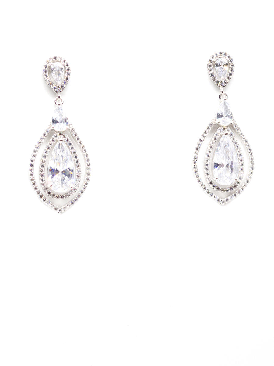 DS BRIDAL    DAE SUNG . - Cubic Zirconia Earring