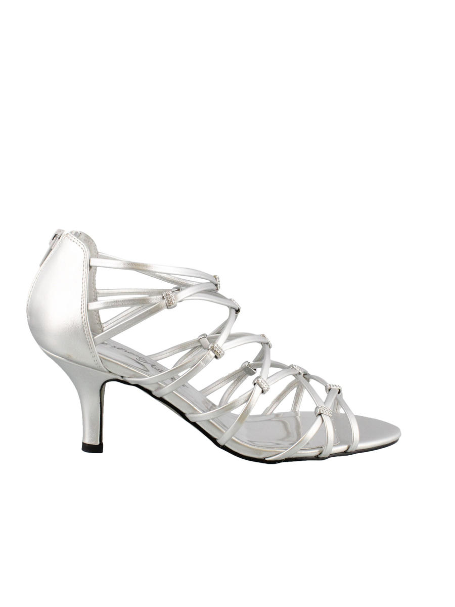 EASY STREET - Mid Heel Strappy Evening Shoe