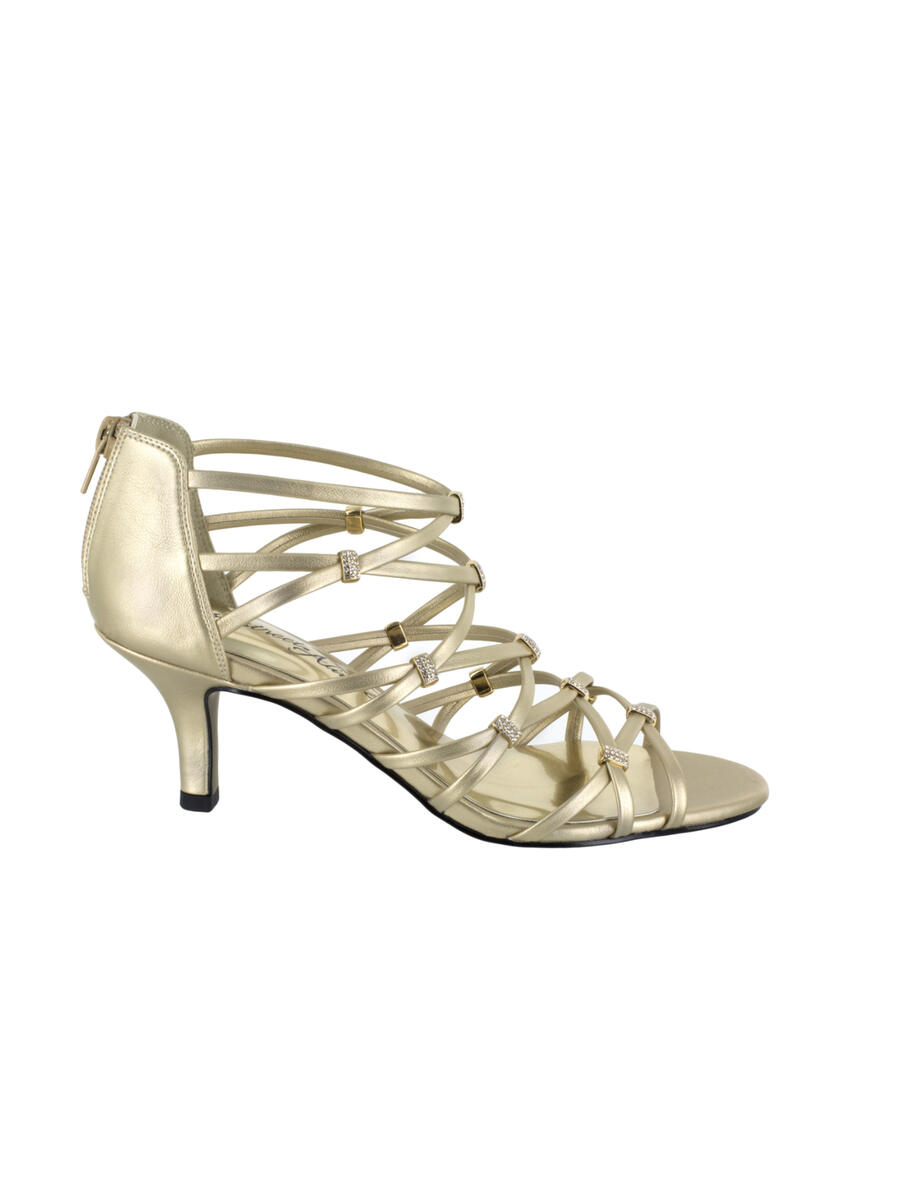 EASY STREET - Low Heel Strappy Shoe