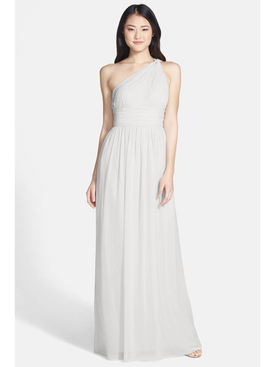 Esmaralda - Chiffon One-Shoulder Gown