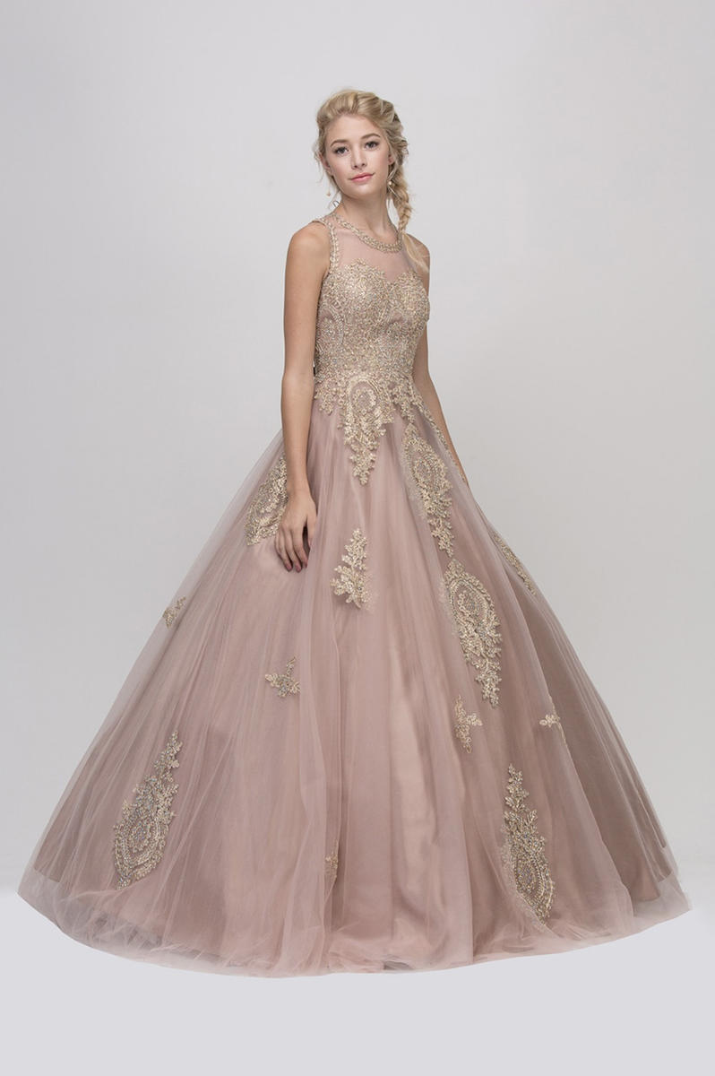 Fashion Eureka - Tulle Ballgown Beaded Emboidered Bodice