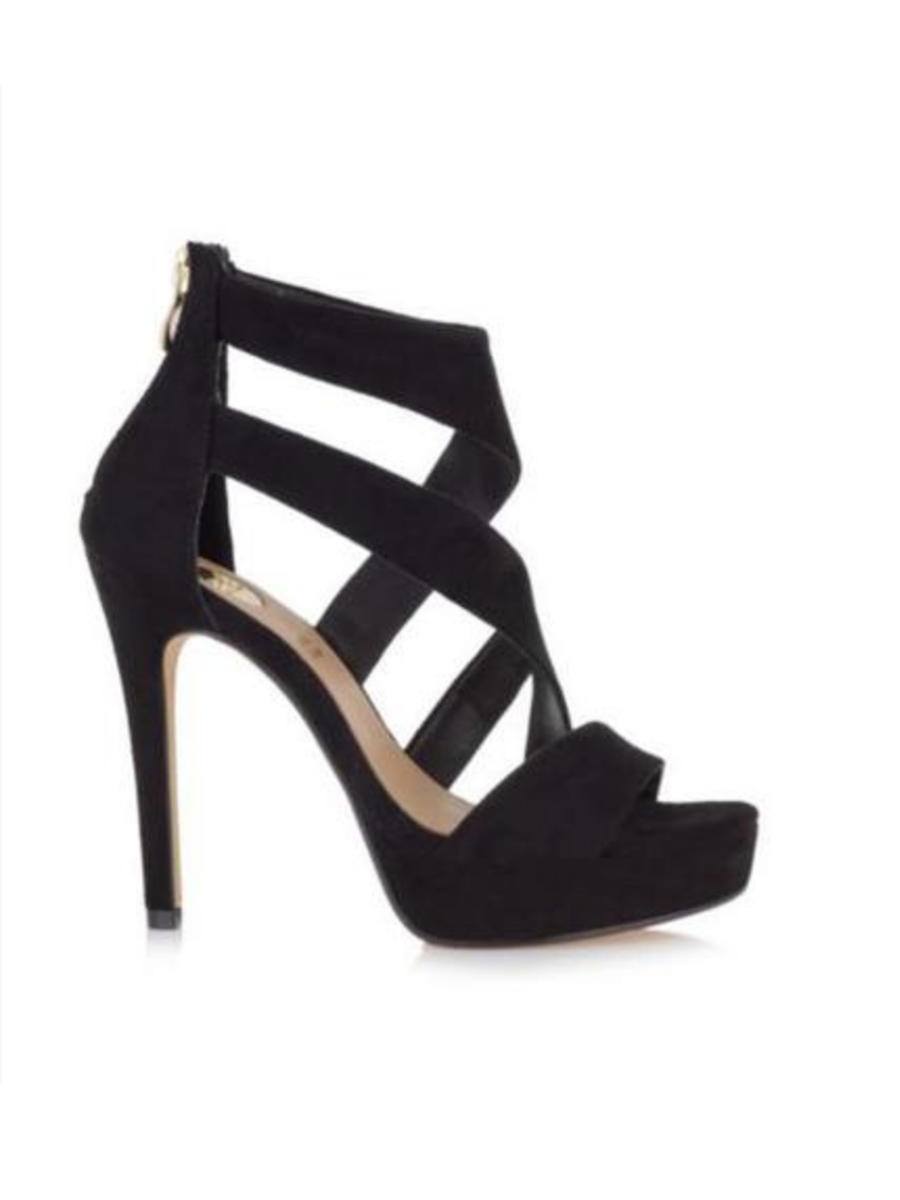 EXE KB SHOES - High Heel Platform Zipper On The Back