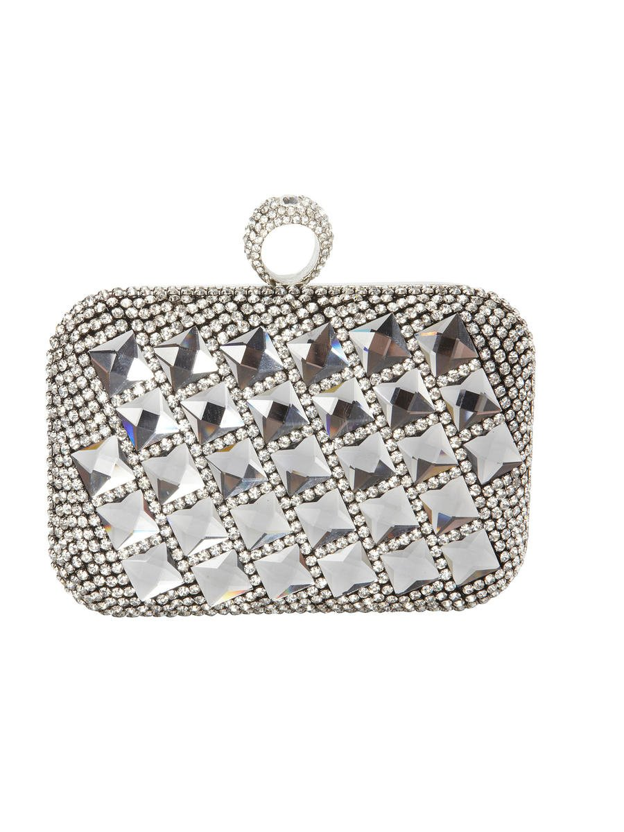 FURMIR INC            NOW 12%  4/19/12 - Rhinestone Tile Ring Clasp Clutch