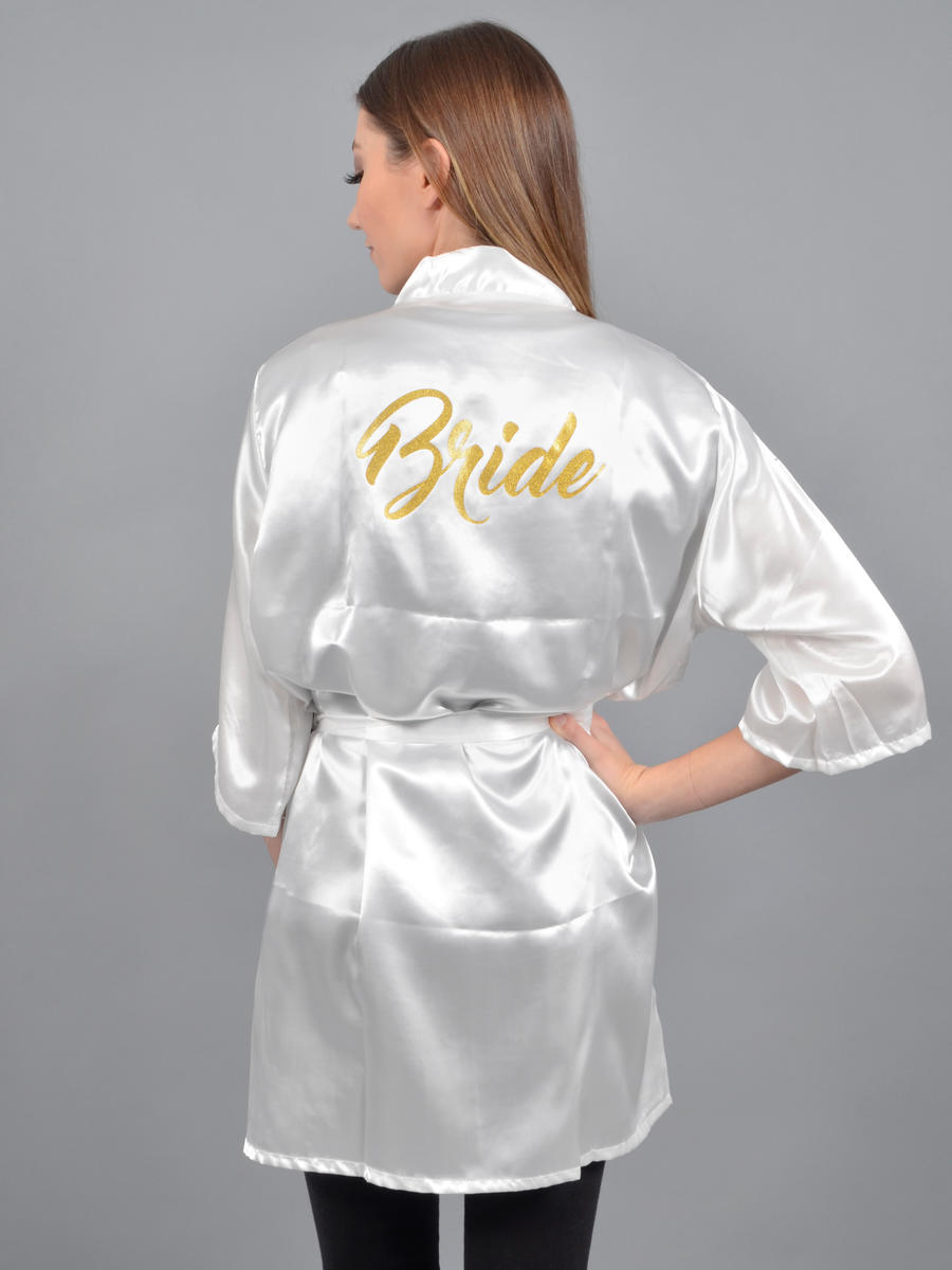 DN Glitz - Bride Robe With Gold