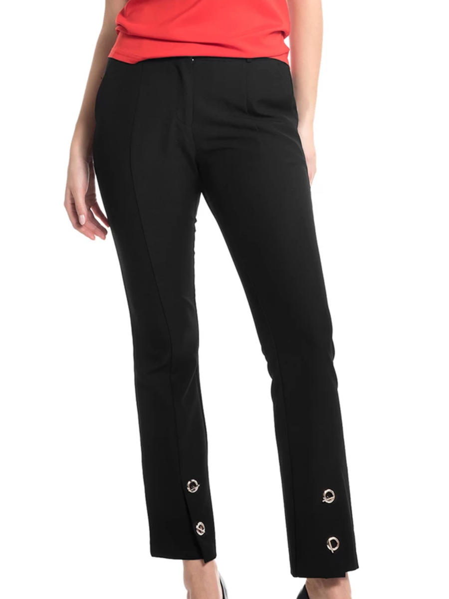 GRACIA FASHION LADIES APPAREL - Pant-Grommet Trim