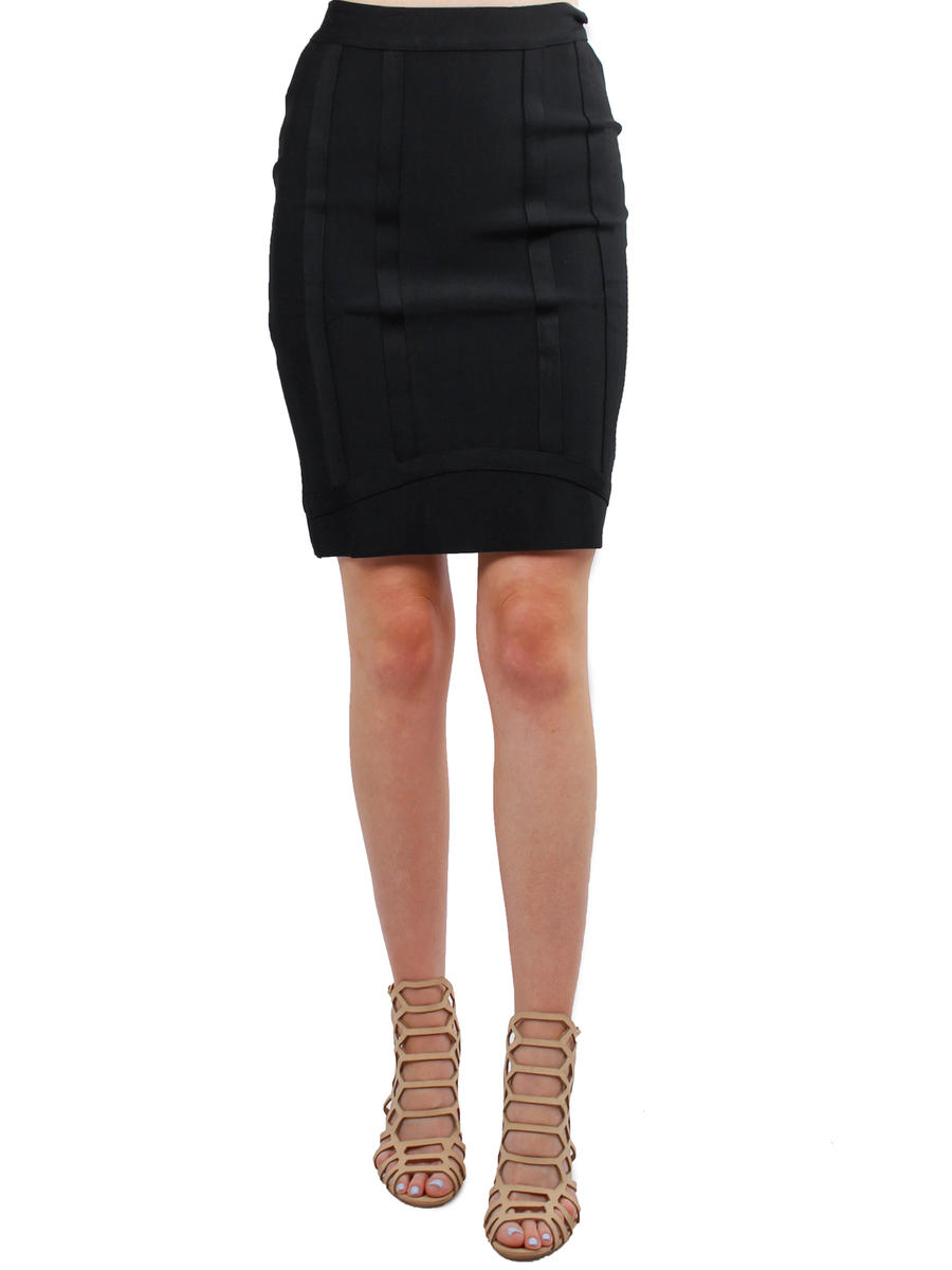 GRACIA FASHION LADIES APPAREL - Pleated Pencil Skirt