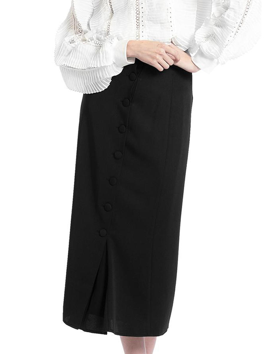 GRACIA FASHION LADIES APPAREL - Satin Long Skirt