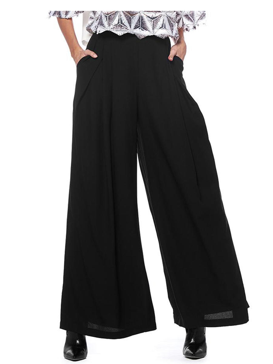 GRACIA FASHION LADIES APPAREL - Wide Leg Pant