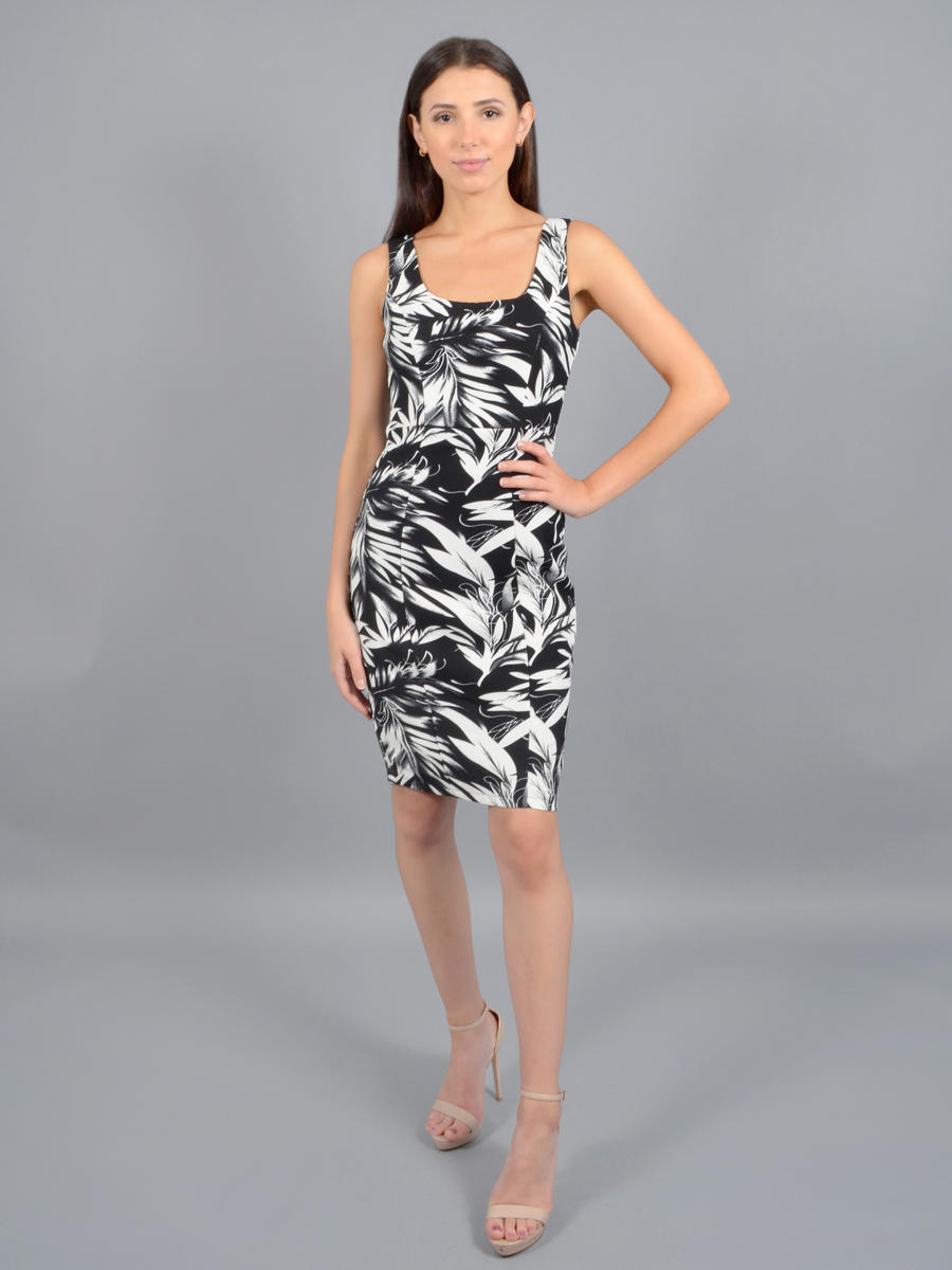INA FASHION - Crepe Print Dress Tank