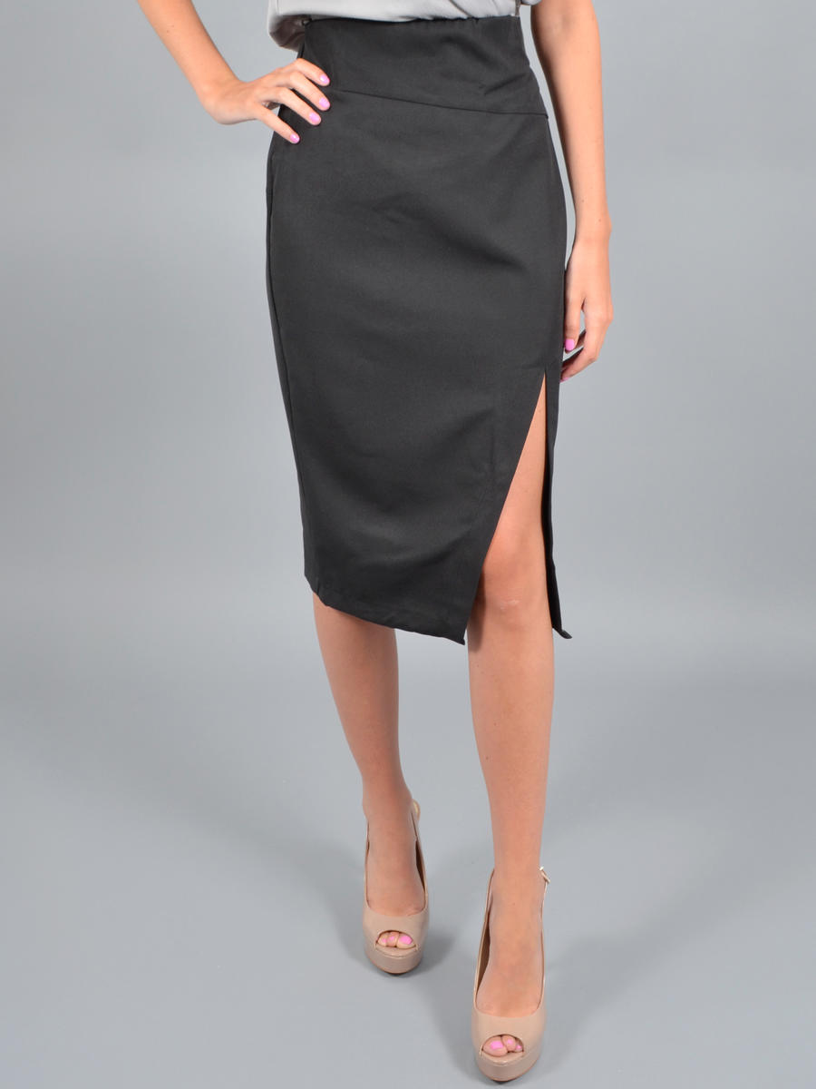 INA FASHION - SATIN SKIRT