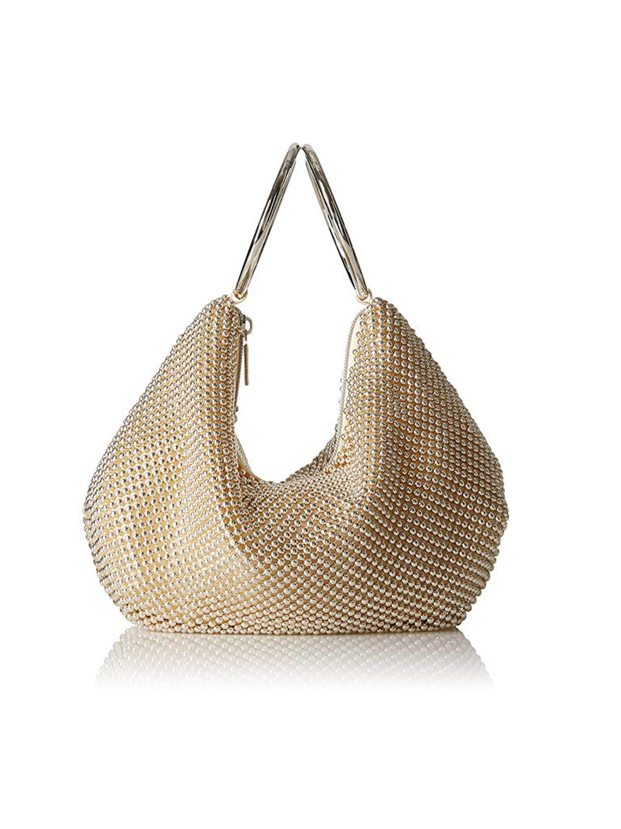 MUNDI Westport / Jessica McClintick - Mesh With Two Circle Handle Evening Bag