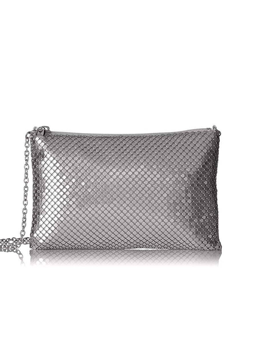 MUNDI Westport / Jessica McClintick - Mesh With Long Chain Evening Bag