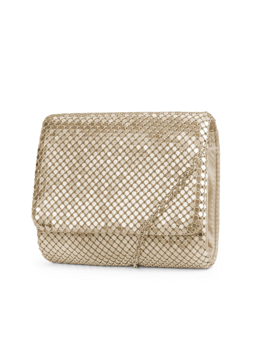 MUNDI Westport / Jessica McClintick - Mesh Small Clutch Evening Bag
