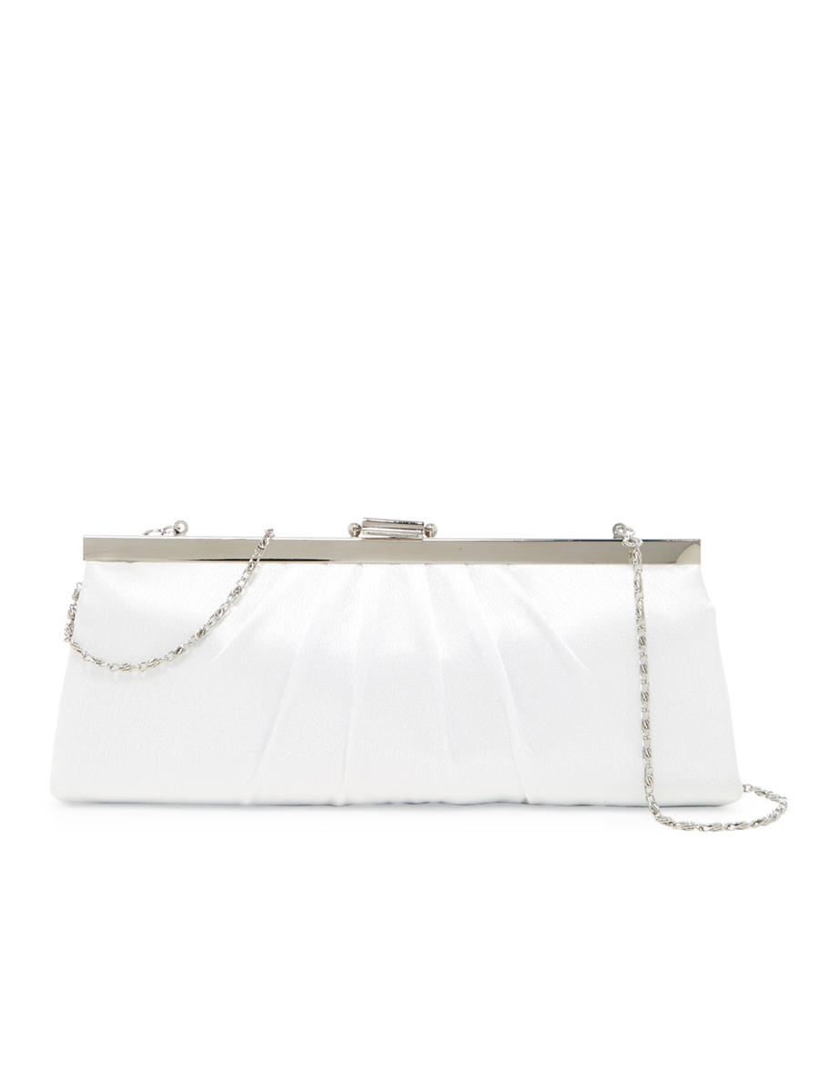 MUNDI Westport / Jessica McClintick - Snap Lock Pleated Evening Clutch