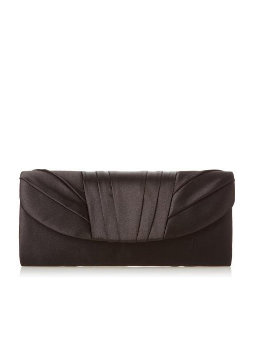 MUNDI Westport / Jessica McClintick - Soft Pleat Satin Clutch