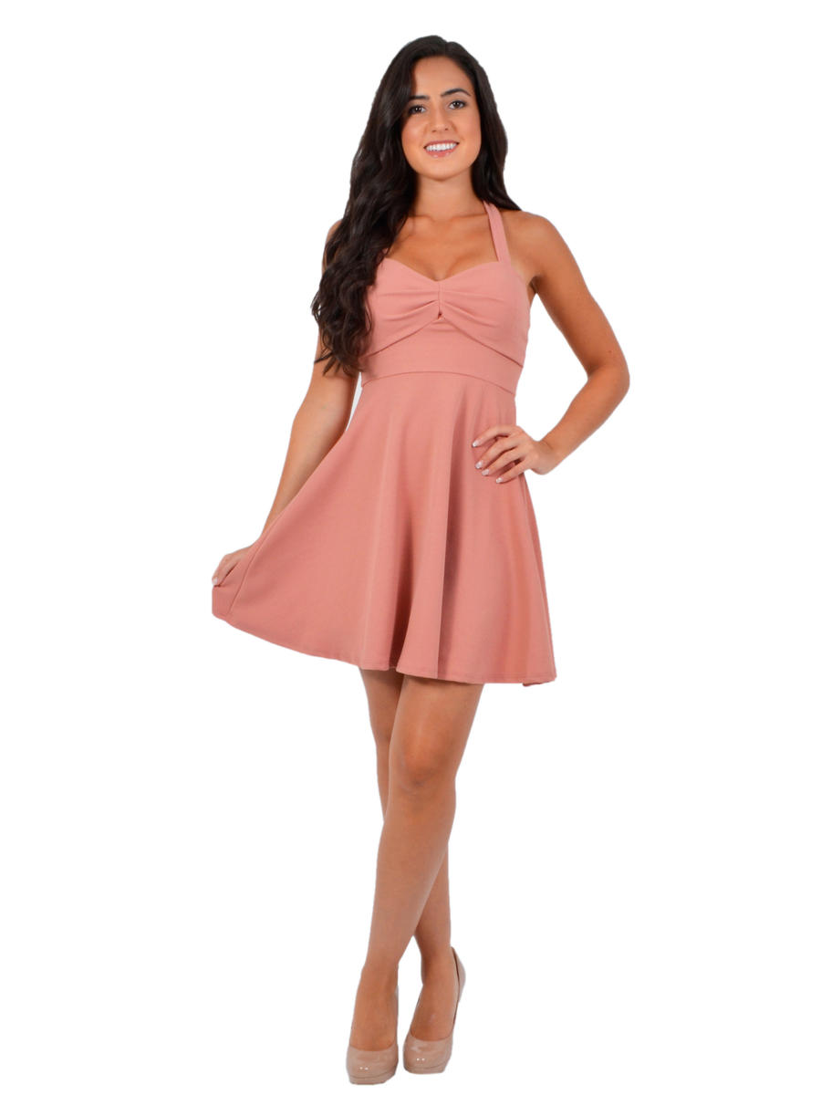 JBLA INC - Fit & Flare Jersey Dress