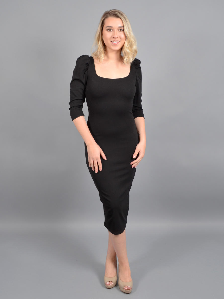 JBLA INC - Long Sleeve Lycra Dress
