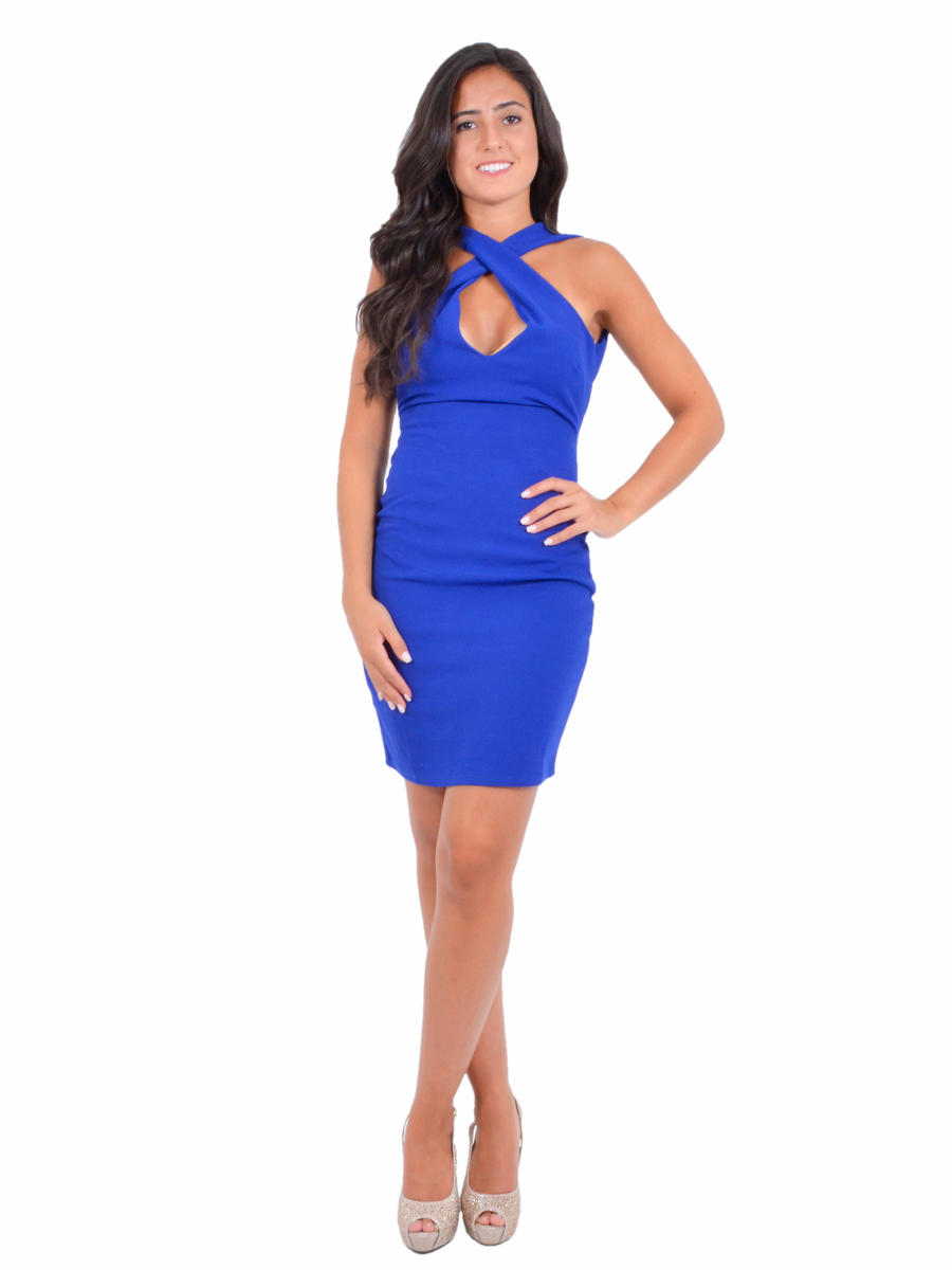 JBLA INC - Jersey Dress X Halter Neck