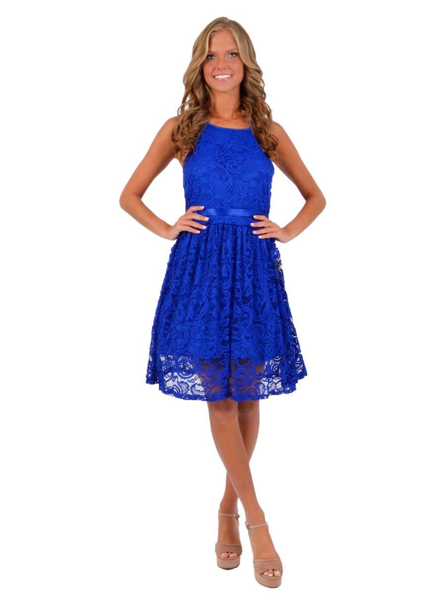 JBLA INC - Lace Dress Spaghetti Strap