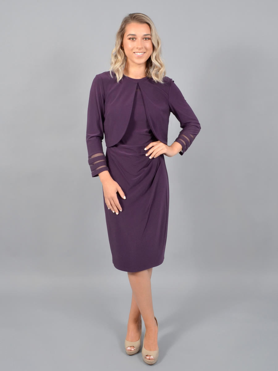JESSICA HOWARD - 2 Piece Lycra Dress/Jacket
