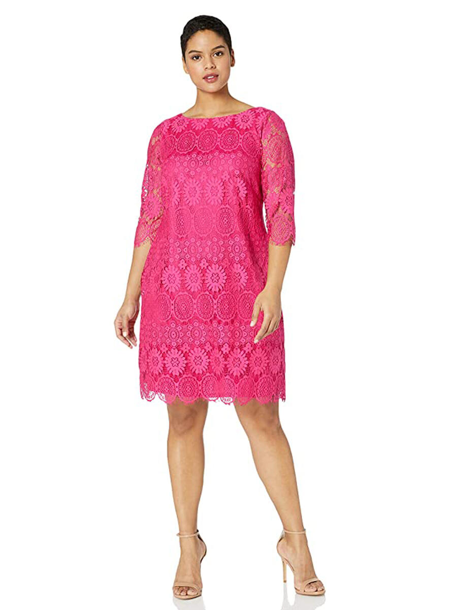 JESSICA HOWARD - Long Sleeve Lace Dress
