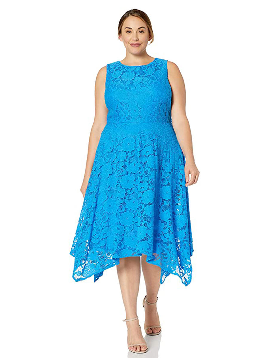 JESSICA HOWARD - Lace High-Low Dress