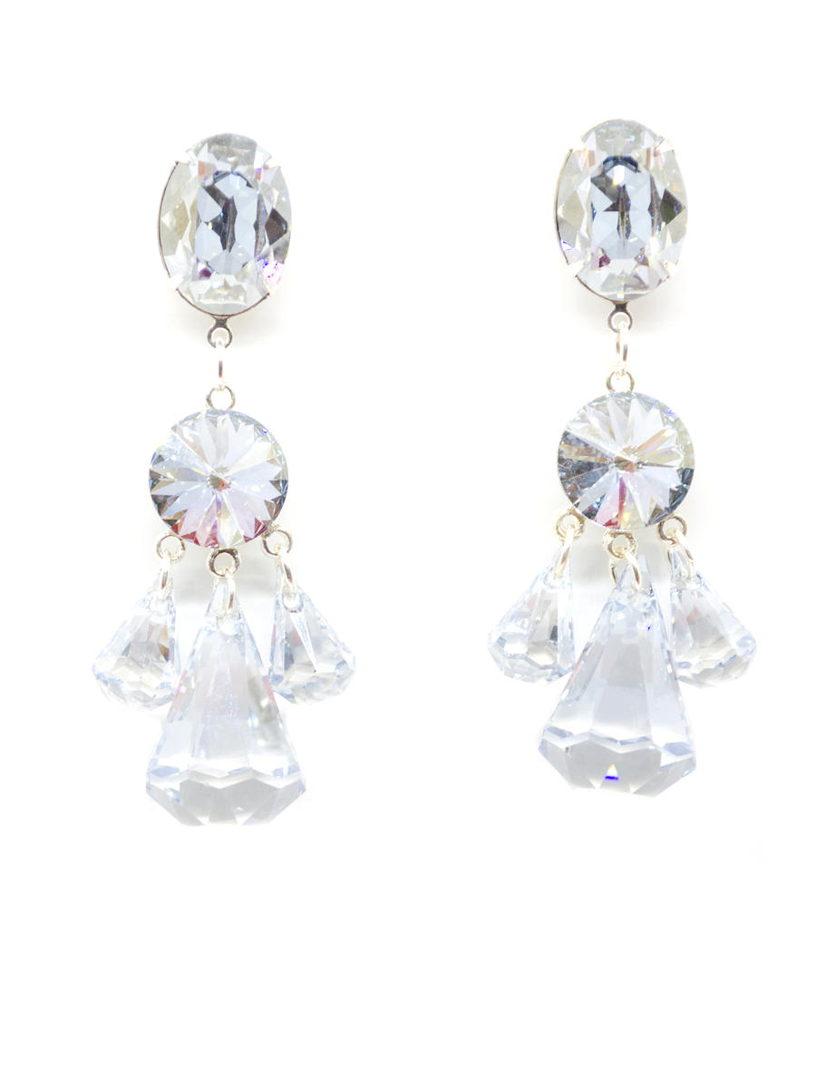 JIM BALL DESIGN - Crystal Drp Earring