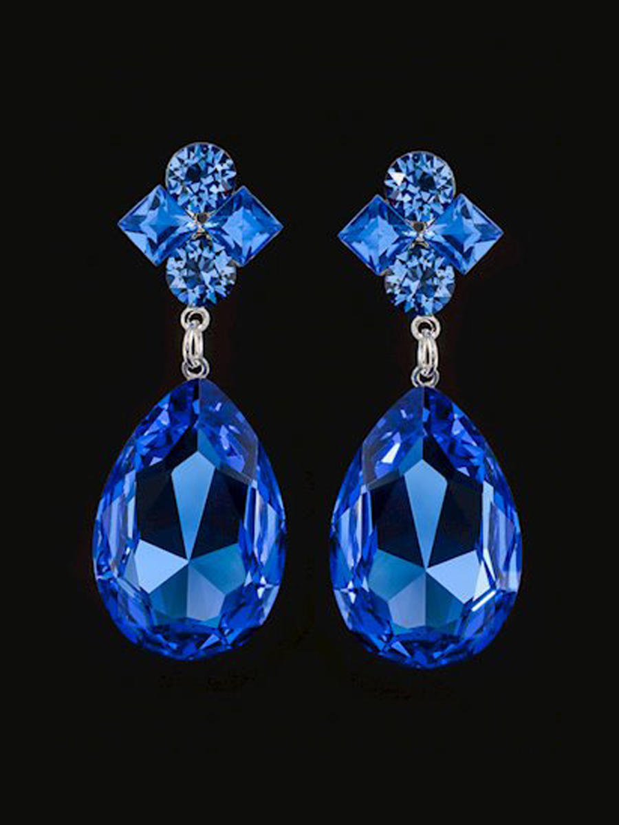 JIM BALL DESIGN - Large Tear Drop Earring