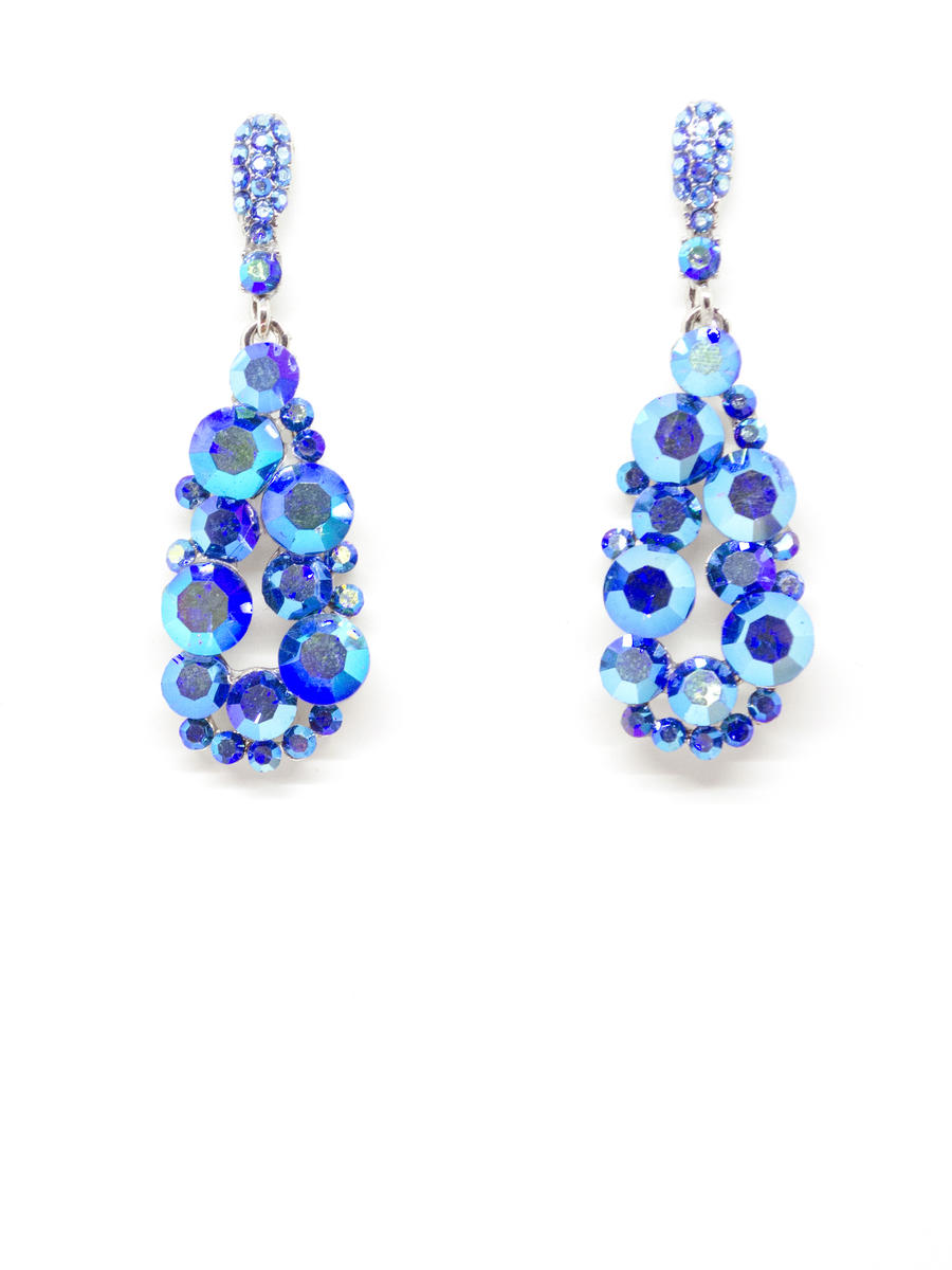 JIM BALL DESIGN - SlimPave KnockerSwarovski Earring