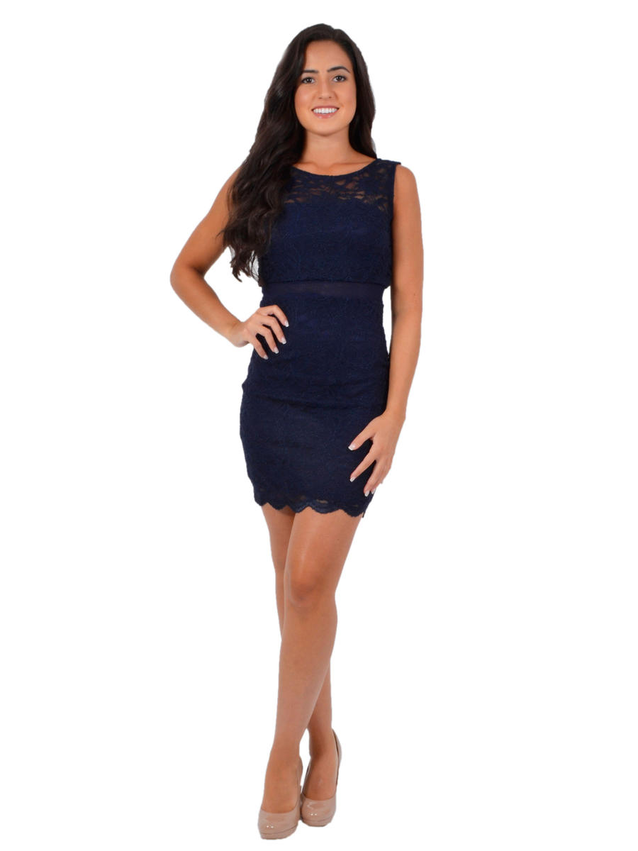 JUMP - Lace Popover Sheath Dress
