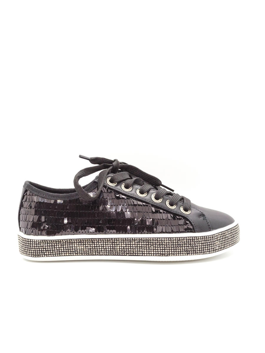 Lady Couture - Sneaker with Sequins and Glitter