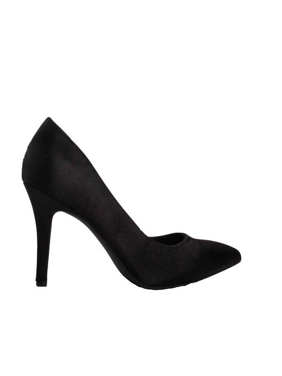 Lady Couture - Satin Pointed Heel Pump
