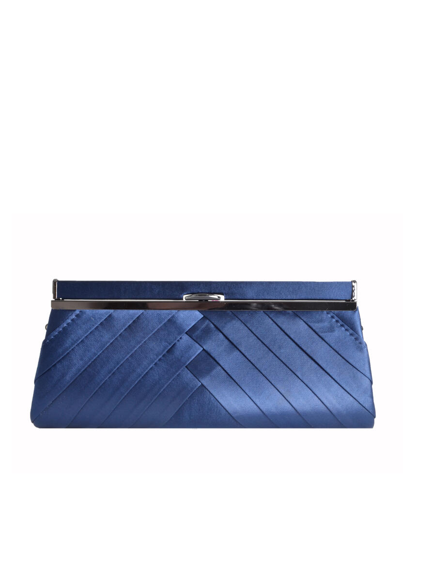 Lady Couture - Satin Pleated Clutch