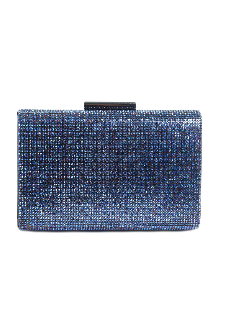 Lady Couture - Rhinestone Hard Frame Clutch