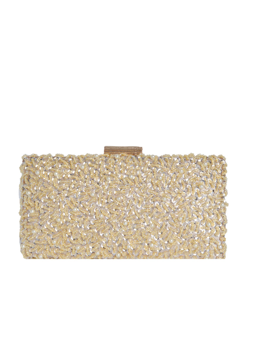 Sequing Beaded Clutch