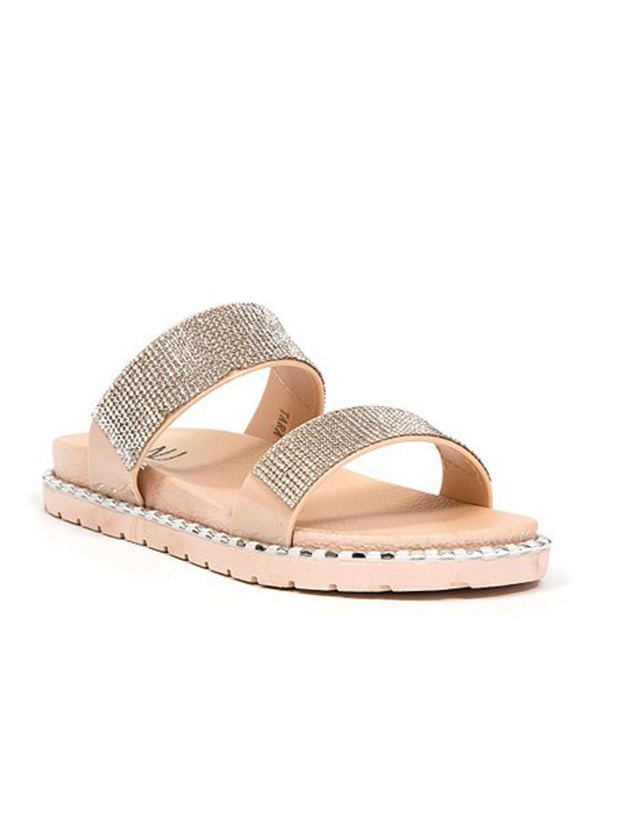 Lady Couture - Double Band Flat Slide