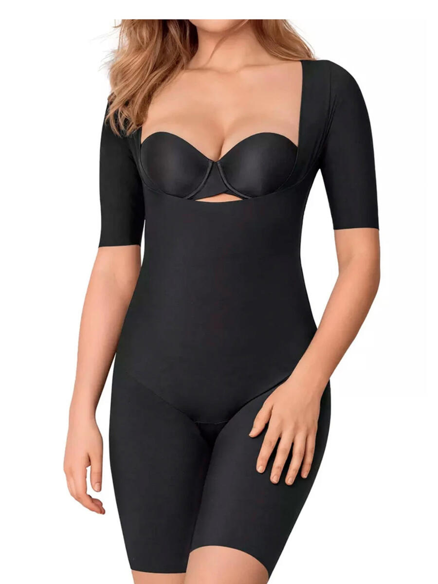 GLOBAL INTIMATES LLC / LEONISA - UNDETECTABLE OPEN BUST SHORTY SHAPER BODYSUIT