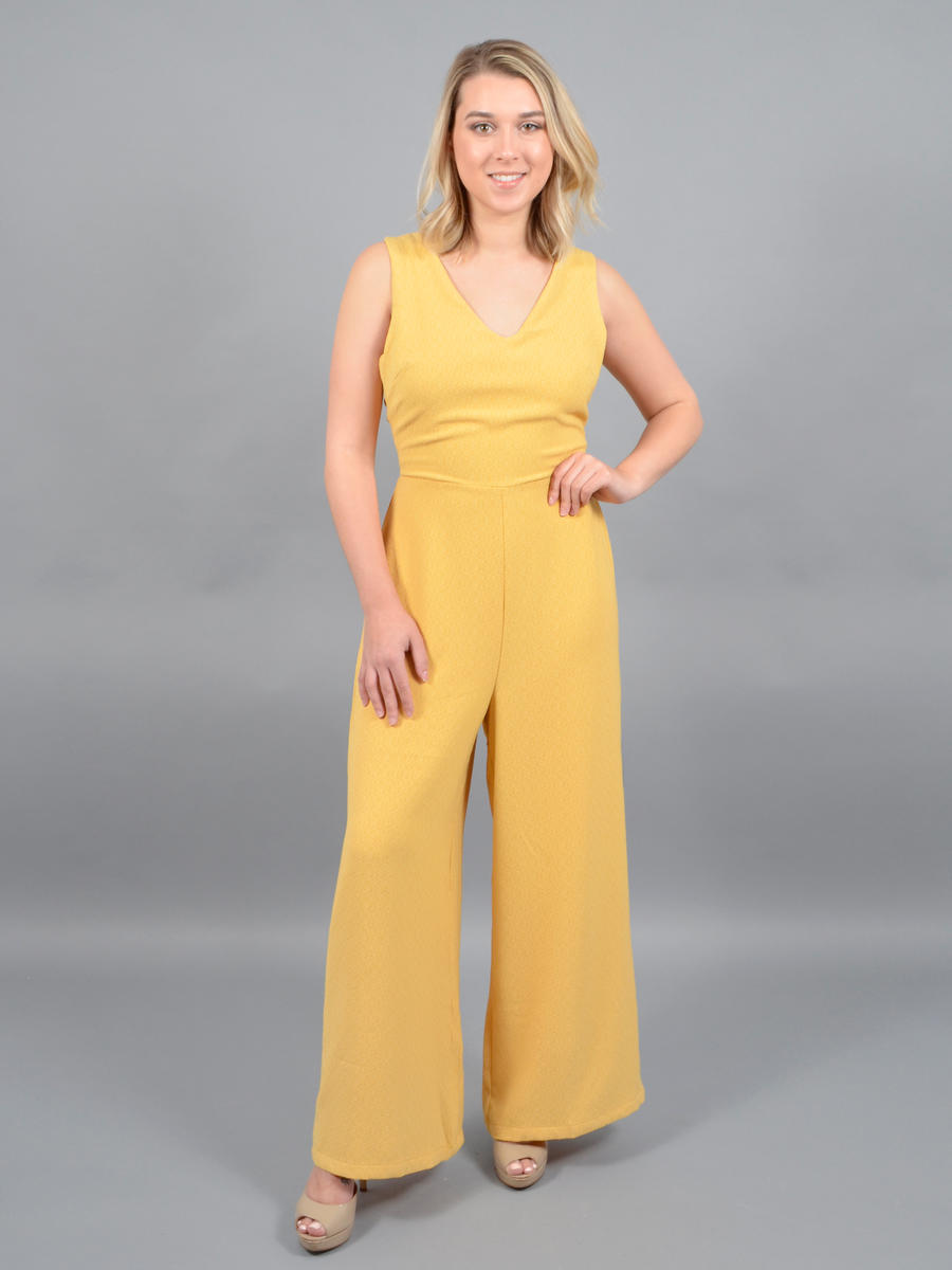Lush - Wide Pant Jumpsuit
