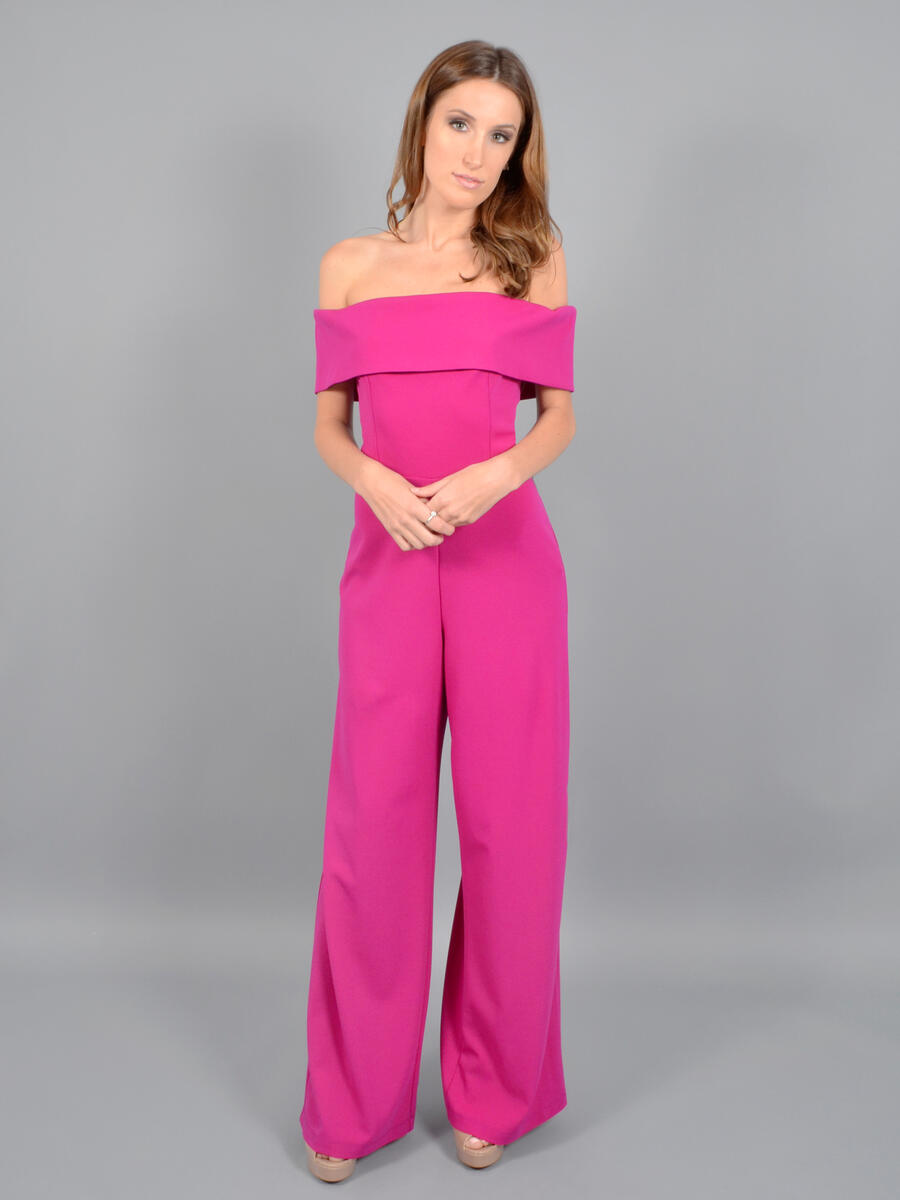 MARINA - Off Shoulder Jumpsuit