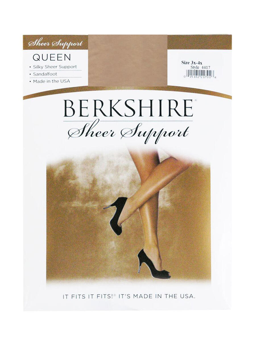 MAYER  BERKSHIRE HOSE - 1/15 SILKY QUEEN SHEER SUPPORT