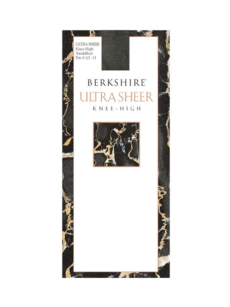 MAYER  BERKSHIRE HOSE - ULTRASHEER KNEE HIGH
