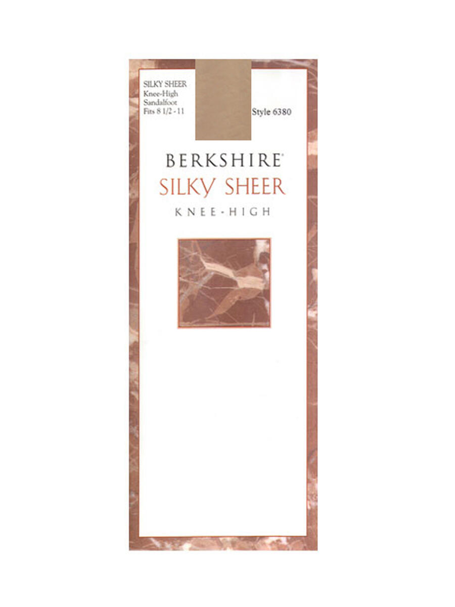 MAYER  BERKSHIRE HOSE - 6 pc        SHEER KNEE HIGH