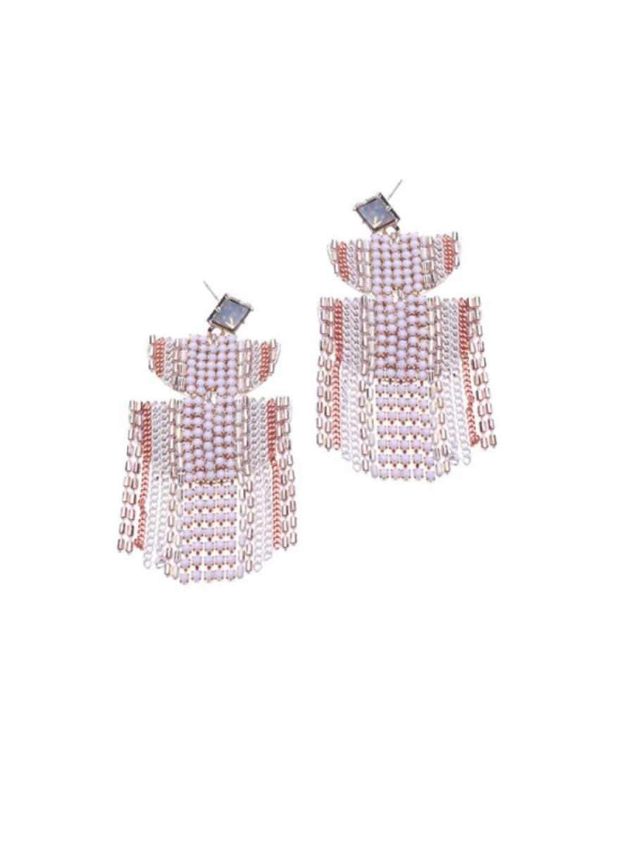 Nakamol Chicago - Rhinestone Drop Earring