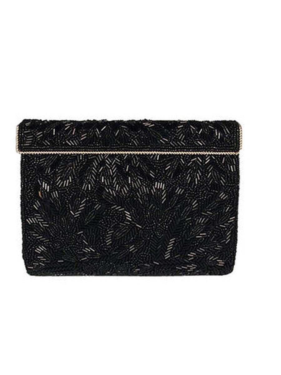 NINA FOOTWEAR CORP - All Over Beaded Clutch Bag