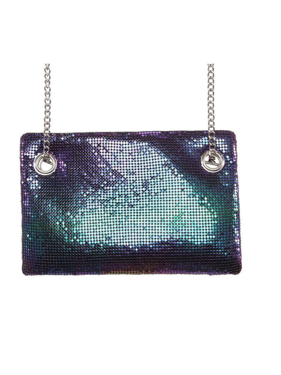 Large Mesh Evening Bag
